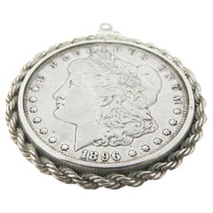 Sterling Silver Coin Pendant