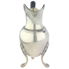 Sterling Silver Creamer Rococo by Andre Aucoc