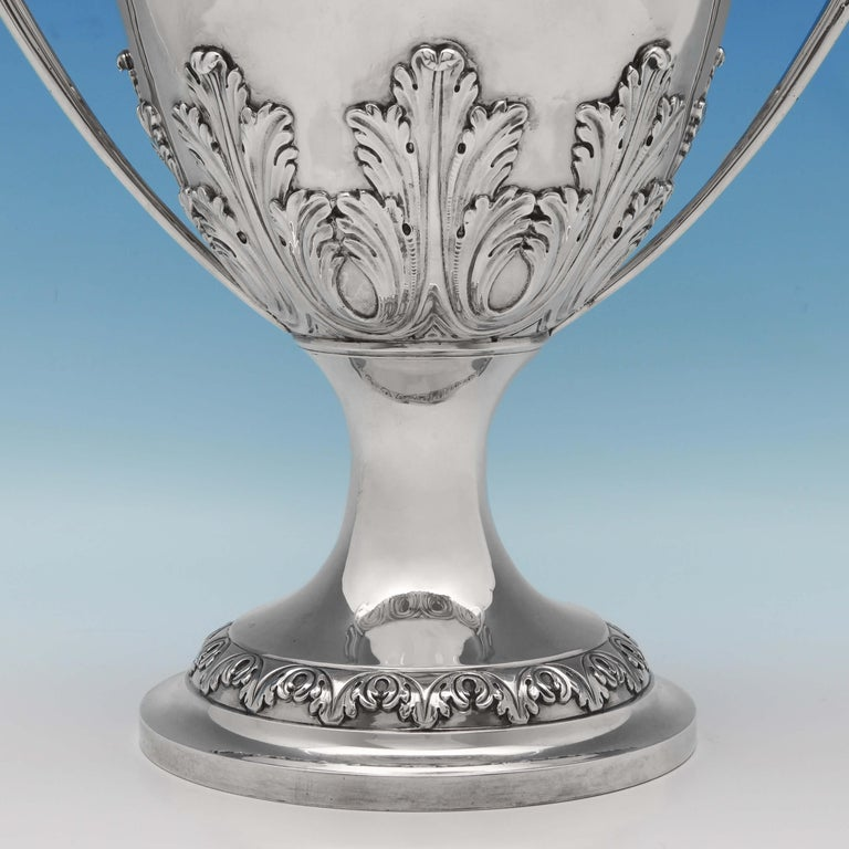 The Duke Of Dorset's Sterling Silver Cup and Cover Hallmarked London 1773 In Good Condition For Sale In London, London