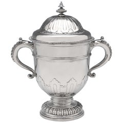 Sterling Silver Cup and Cover