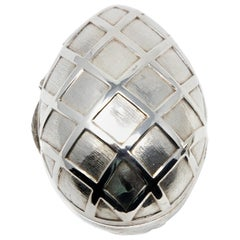 Sterling Silver Decorative Egg #2