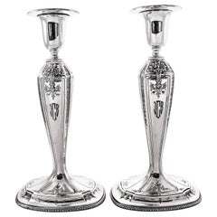 Sterling Silver D'Orleans Candlesticks