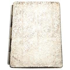 Sterling Silver Folding Pocket/Travel Picture Frame