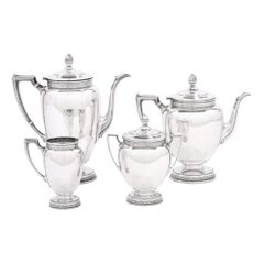 Sterling Silver Four Piece Tea / Coffee Service