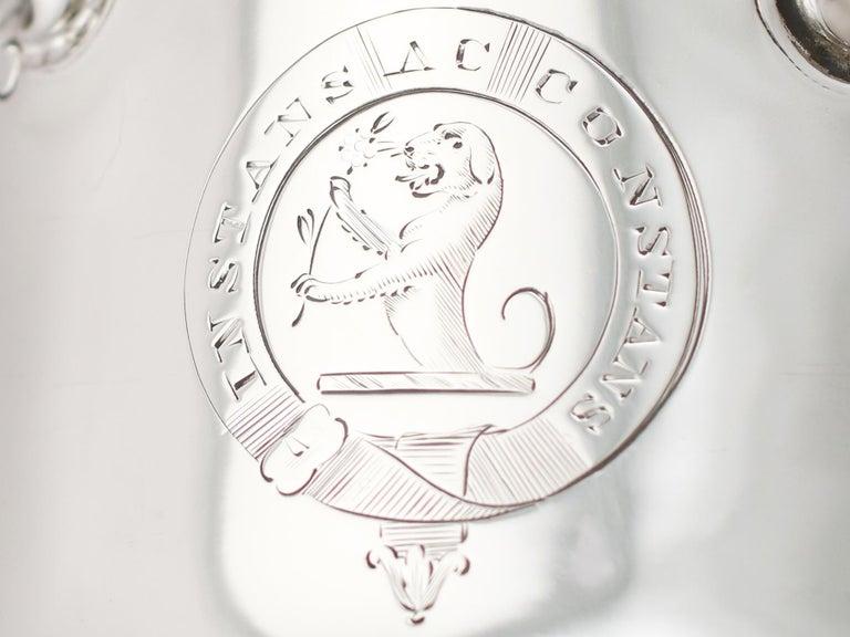 1850s Antique Victorian Sterling Silver Goblet For Sale 1