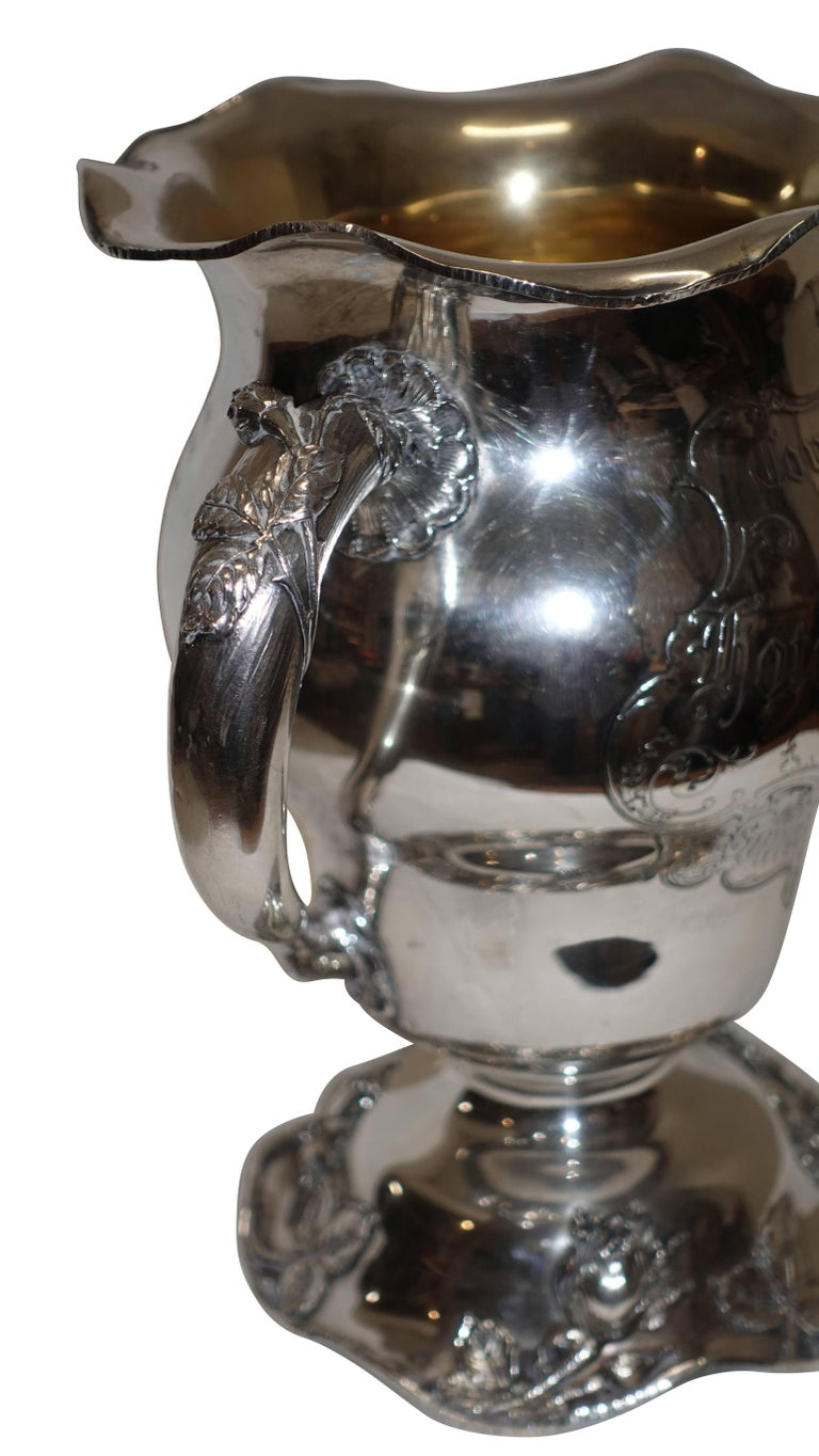 Sterling Silver Golf Trophy Loving Cup, Pittsburgh, Hotel Country Club For Sale 3
