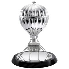 Sterling Silver Hot Air Balloon Chocolate Box