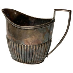 Sterling Silver Milk Jug by Carrington & Co, England, 19th Century
