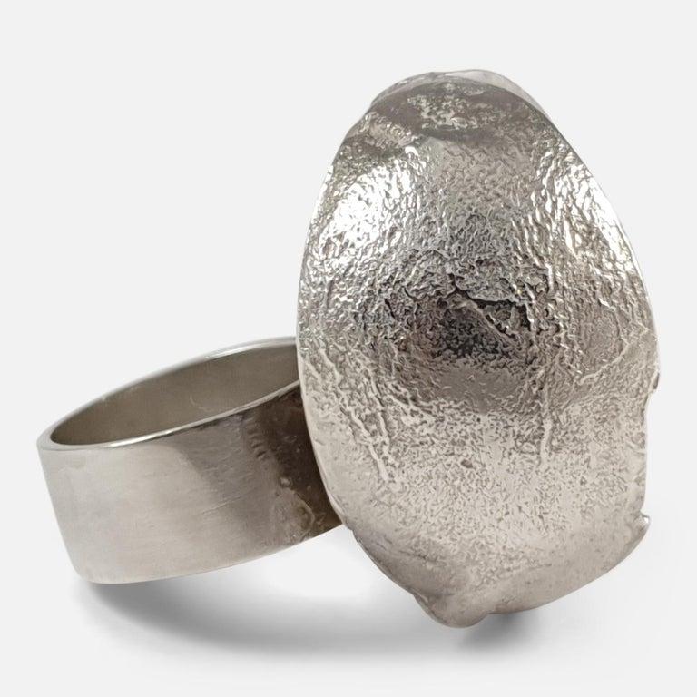 Women's Sterling Silver Modernist