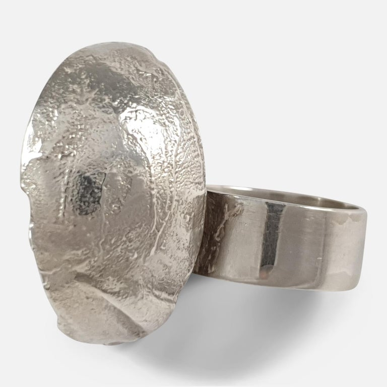 Sterling Silver Modernist