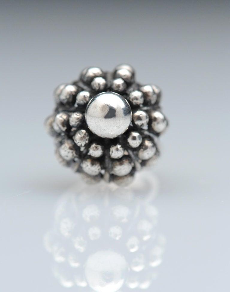 Sterling Silver Modernist Ring E. Granit Finland Vintage Scandinavian For Sale 9