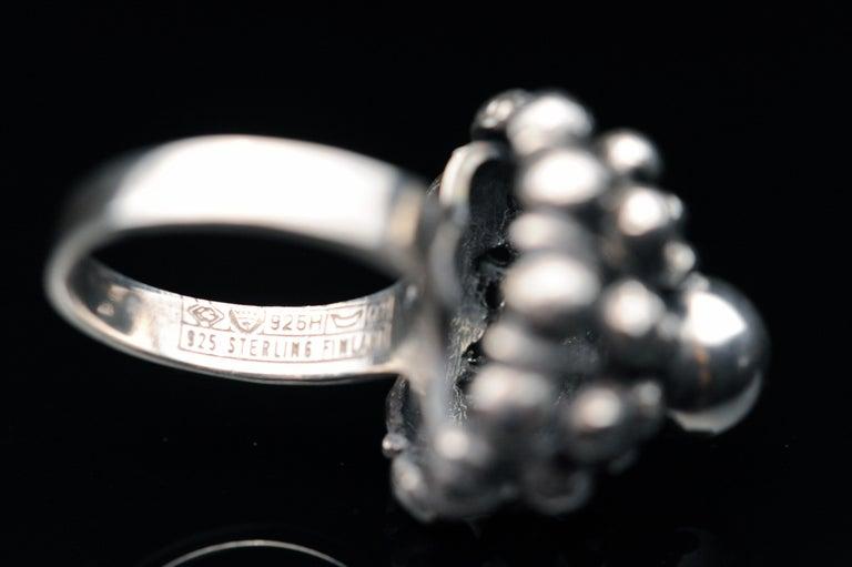 Sterling Silver Modernist Ring E. Granit Finland Vintage Scandinavian For Sale 5