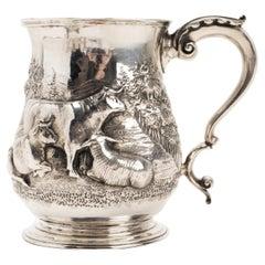 Sterling Silver Mug, Henry Holland London, 1856