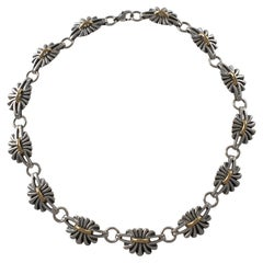 Sterling Silver Necklace No. 394, Georg Jensen