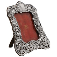 Sterling Silver Photograph Frame