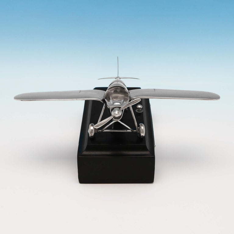 English RAF Interest, RAF Kingstown, Early Battery Operated Plane Cigar Lighter, 1936