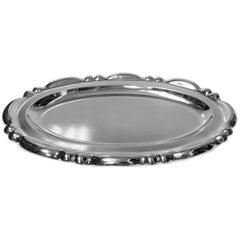 Sterling Silver Platter Tray, circa 1930
