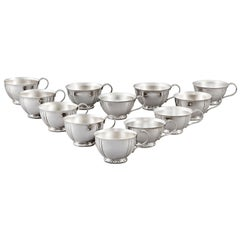 Sterling Silver Punch Cups by Tiffany & Co.