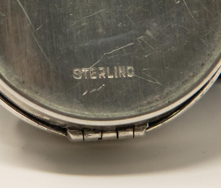 Sterling Silver Ring Box For Sale 1
