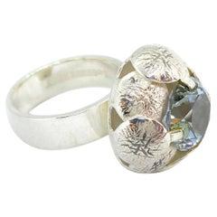 Sterling Silver Ring by Elis Kauppi for Kupittaan Kulta, Finland