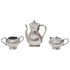 Sterling Silver Sanborn Tea and Coffee Service Vintage