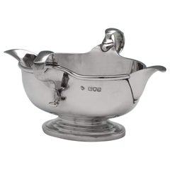 Sterling Silver Sauce Boat