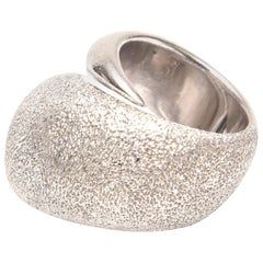 Sterling Silver Sculptural Pianegonda Ring