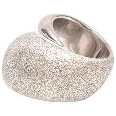Sterling Silver Sculptural Pianegonda Ring