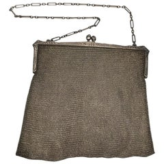 Sterling Silver S.E. Kaupe Chainmail Purse