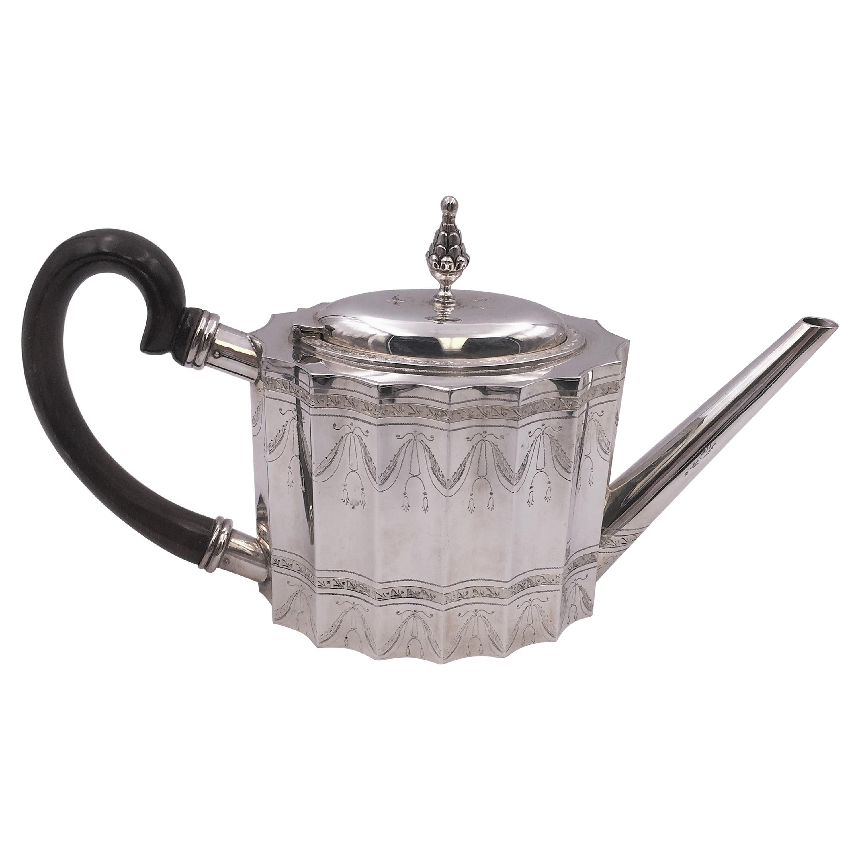 Sterling Silver Tea Pot by Tane Prestigious Mexican Maker