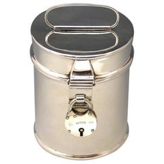 Sterling Silver Tiffin Tin, Hallmarked 1911