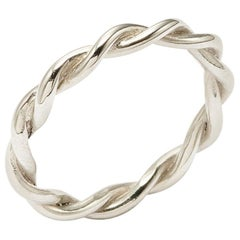 Twists - Twisted Band in Sterling Silver