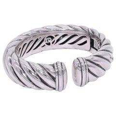 Sterling Silver Waverly Cuff Bracelet by David Yurman