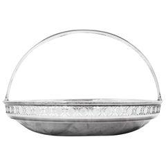 Sterling Tiffany Basket