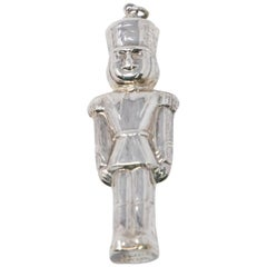 Sterling Toy Soldier Ornament