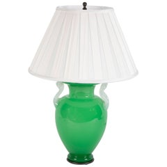 Steuben Glass Vase Now as Table Lamp