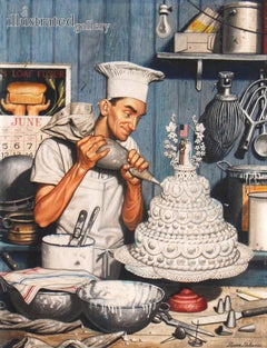 Icing the Cake, Cover of The Saturday Evening Post