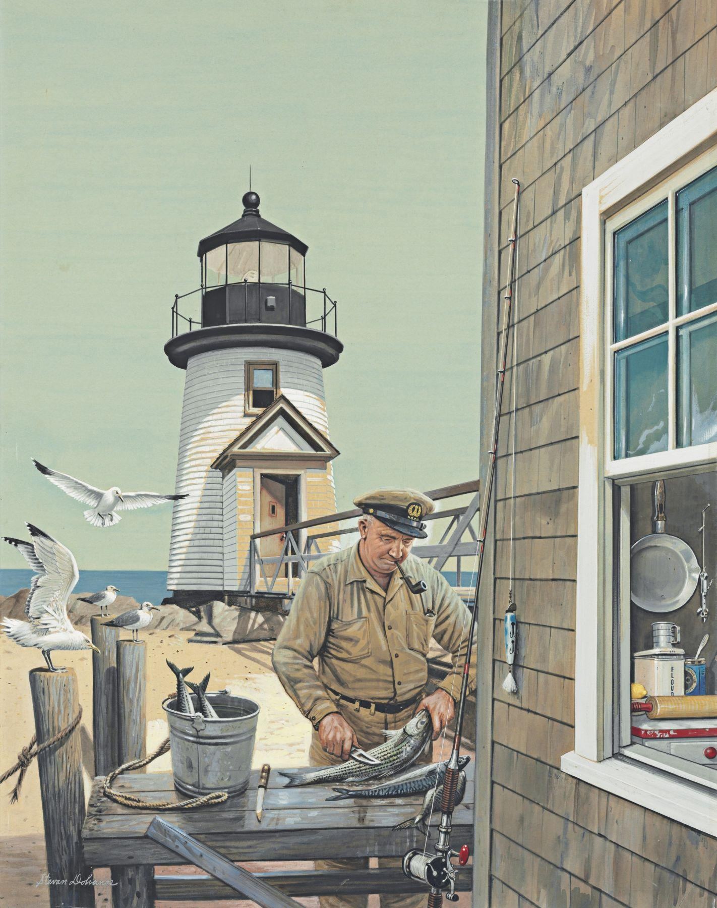 Lighthouse Keeper, Brant Point