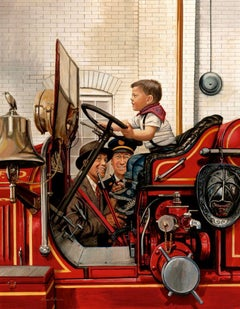 The Future Fireman, The Saturday Evening Post Cover