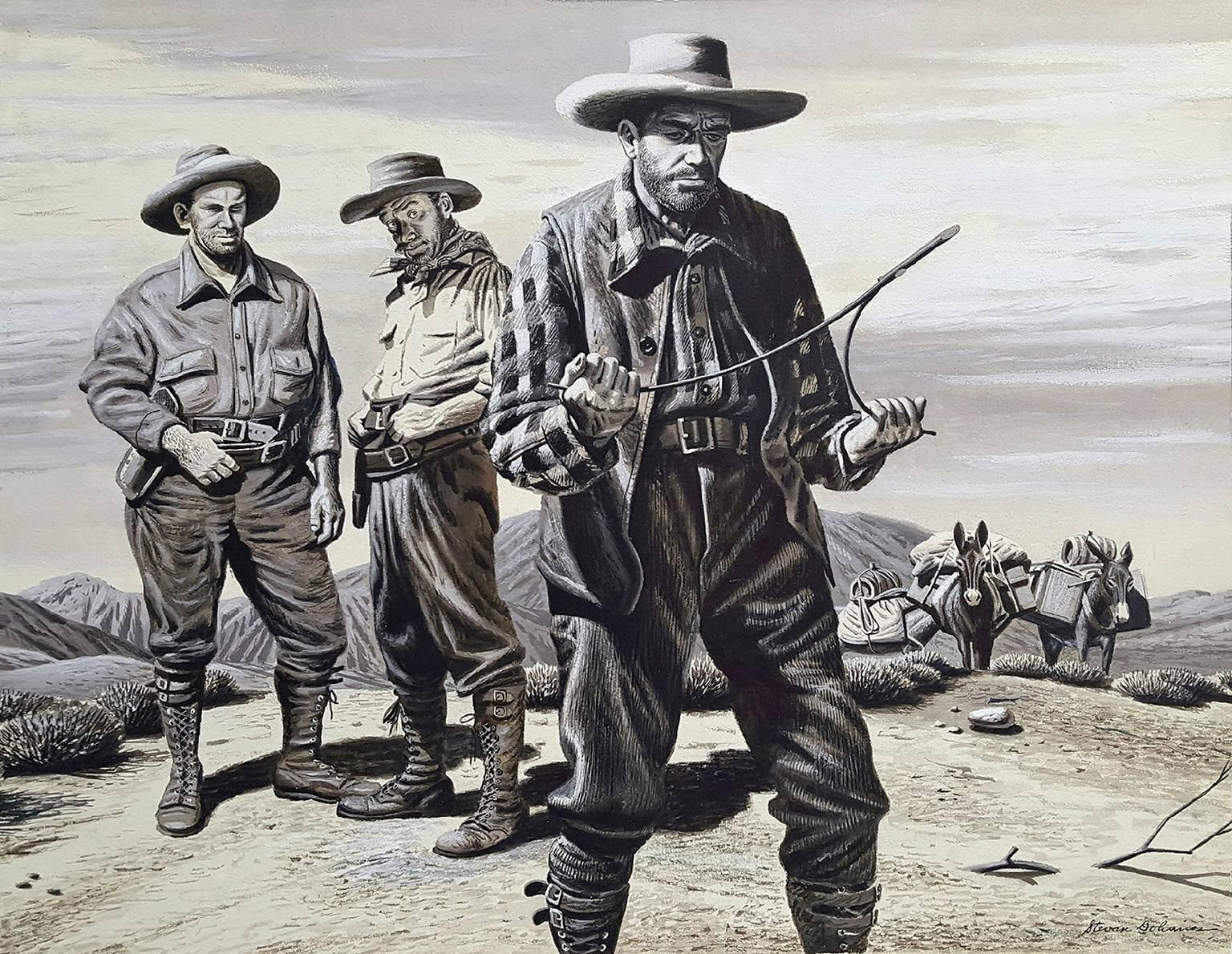 Water Hunters ( Cowboys in the Old West )