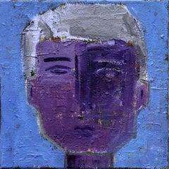 Paris Portrait: Adrien, Painting, Acrylic on Canvas