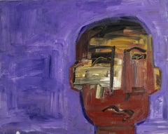 Paris Portraits - Louis, Painting, Acrylic on MDF Panel