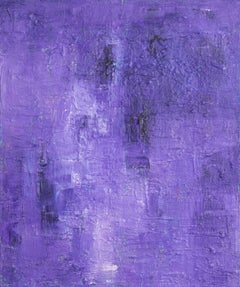 Purple Rain, Painting, Acrylic on Canvas