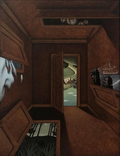"Interior Scene, ""Which/Switch"" (Surrealism, Realism)"