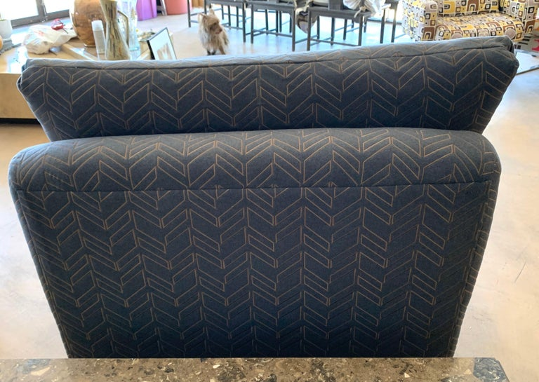 Steve Chase Grey & Bronze Modern Chaise Lounge from the Palm Springs Kroc Estate 4