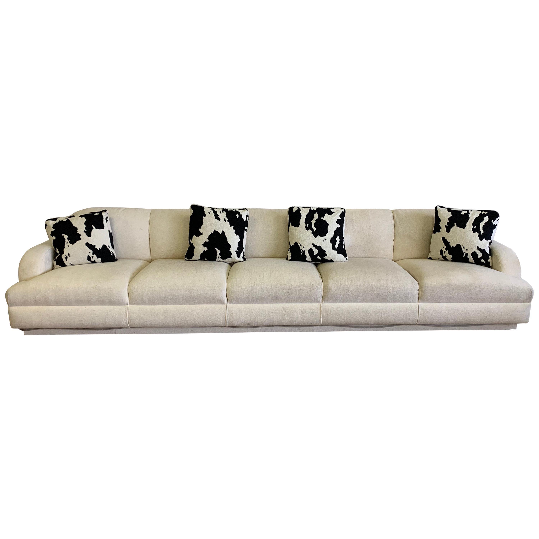 Steve Chase Iconic Modern Illuminated Sofa