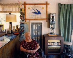 Lillian Redman, Blue Swallow Motel, Rt. 66, Tucumcari, New Mexico; July, 1990