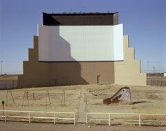 Prairie Drive-in theater, Dumas, Texas, January 9, 1981