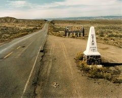 Utah and Colorado state line, Highway 50; October 16, 1982