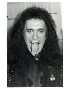 Gene Simmons Tongue Out Vintage Original Photograph